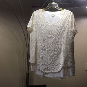 Brand New Style & Co Top